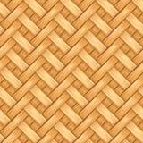 Bamboe het vakmanschap van het de textuurontwerp van het mandewerkpatroon royalty-vrije illustratie