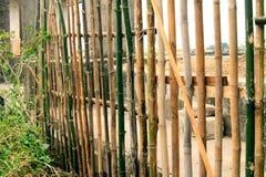 bamboe omheining Royalty-vrije Stock Fotografie