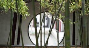 Bamboe in Suzhou-Museum Stock Afbeeldingen