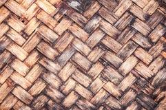 Bamboe weav Royalty-vrije Stock Afbeelding