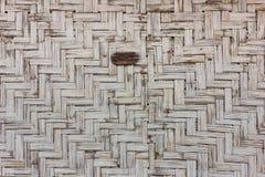 Bamboe wevende achtergrond royalty-vrije stock afbeelding