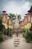 Bamboe-zand Pagode Royalty-vrije Stock Afbeelding