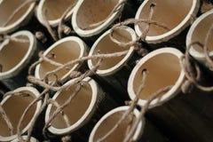 Bamboebuis Royalty-vrije Stock Afbeeldingen