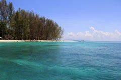 Bamboeeiland, Krabi Stock Foto