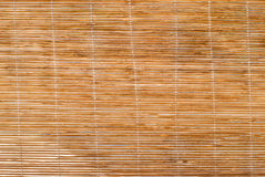 Bamboegordijn Royalty-vrije Stock Afbeelding