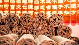 Bamboehandboek Stock Afbeelding