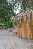 Bamboehut Stock Fotografie