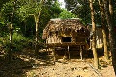 Bamboehut Royalty-vrije Stock Afbeeldingen