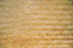 Bamboemuur Royalty-vrije Stock Afbeeldingen
