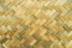 Bamboemuur Royalty-vrije Stock Foto