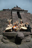 Bamboemuziek Royalty-vrije Stock Foto's