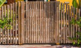 Bamboepoort Stock Afbeeldingen
