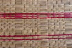 Bamboeservet stock foto