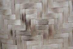 Bamboetextuur van mand, handwork royalty-vrije stock afbeeldingen