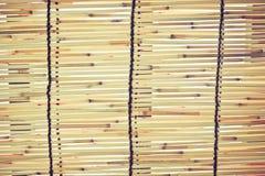 Bamboezonneblinden Royalty-vrije Stock Fotografie