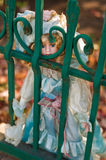 Bambola antica Immagini Stock
