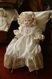 Bambola antica del Victorian Fotografie Stock
