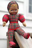 Bambola antica francese Immagine Stock Libera da Diritti