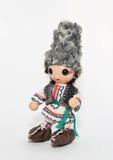 Bambola balcanic tradizionale Immagini Stock