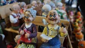 bambola ceramica della Gran-nonna Fotografia Stock
