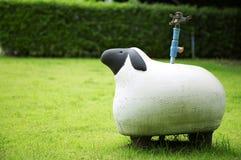 Bambola ceramica delle pecore Fotografia Stock Libera da Diritti