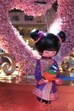 Bambola cinese 01 Fotografie Stock Libere da Diritti