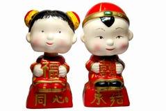 Bambola cinese Fotografia Stock