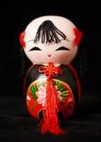 Bambola cinese dell'argilla Immagini Stock