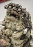 Bambola cinese della pietra del leone Fotografia Stock