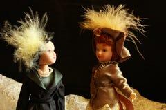 Bambola d'annata fotografie stock