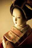 Bambola del kimono Fotografia Stock