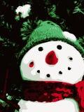 Bambola del pupazzo di neve Immagine Stock