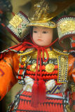 Bambola del samurai Fotografia Stock Libera da Diritti