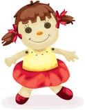 Bambola del tessuto Immagini Stock Libere da Diritti