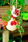 Bambola dell'argilla per la decorazione Fotografia Stock Libera da Diritti