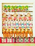 Bambola dell'argilla per la decorazione Fotografia Stock