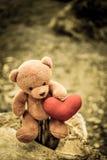 Bambola dell'orso Fotografia Stock