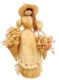 Bambola della buccia di cereale Immagine Stock