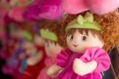 Bambola della lana Fotografie Stock Libere da Diritti