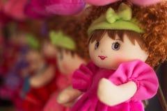 Bambola della lana Immagini Stock Libere da Diritti