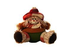 Bambola della paglia Fotografia Stock