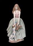 Bambola della porcellana Fotografie Stock Libere da Diritti