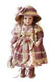 Bambola della ragazza Immagini Stock