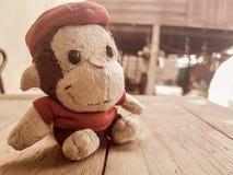 Bambola della scimmia Fotografie Stock