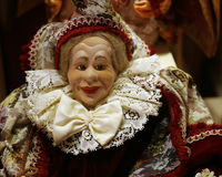 Bambola della signora di Venetial Fotografia Stock