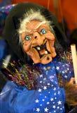 Bambola della strega di Halloween Immagine Stock