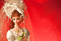 Bambola di cerimonia nuziale Immagini Stock Libere da Diritti