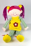 Bambola di colore Fotografia Stock