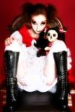 Bambola di Goth fotografie stock