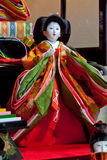Bambola di Hina Fotografie Stock